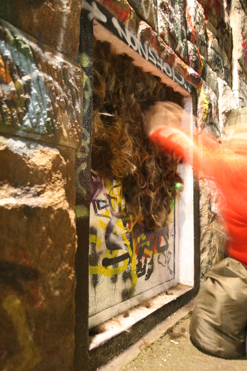 Fieldwork - Pubic Hair Corners. 2009. Meidling, Vienna (AT).