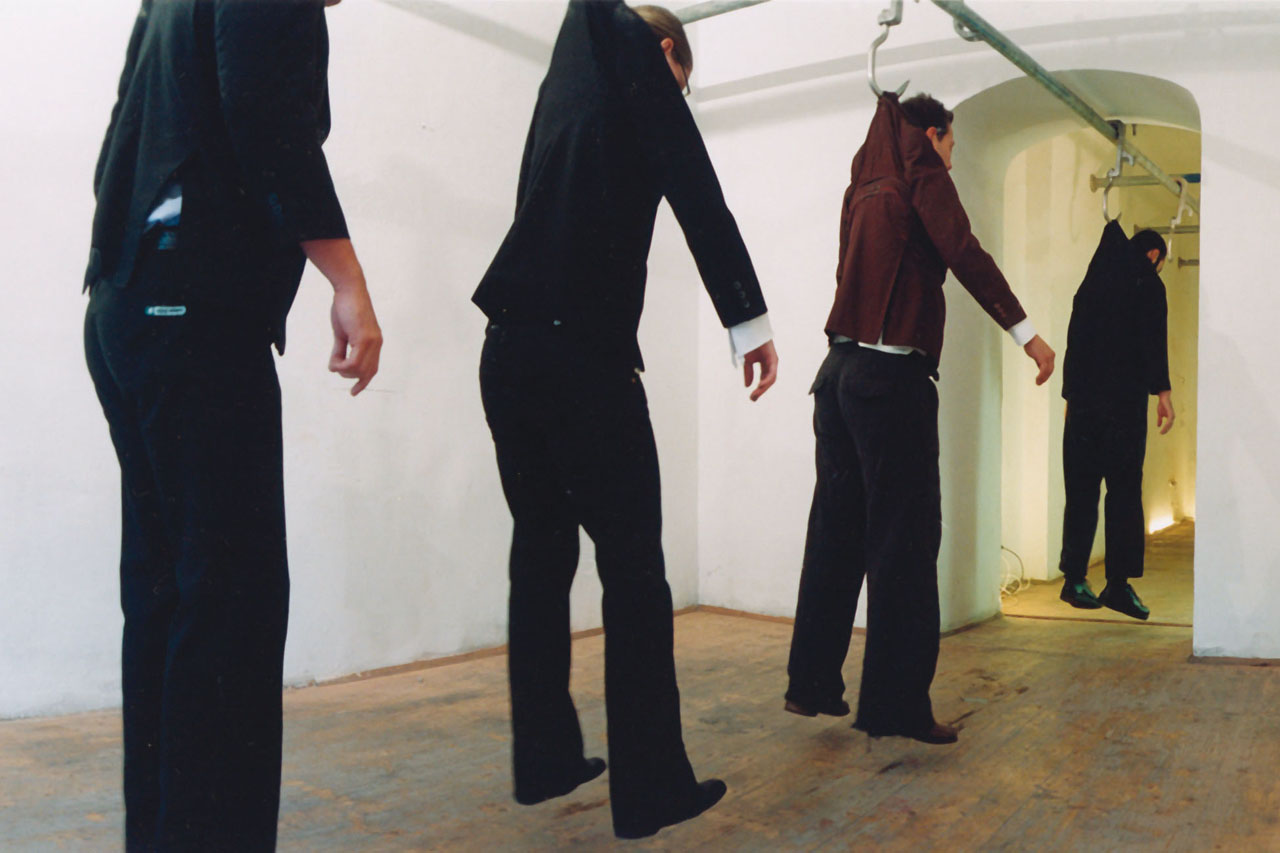 A Public Hanging. Installation, 2004. Atelier Assocreation, Vienna (AT). Photo: Klaus Pichler.